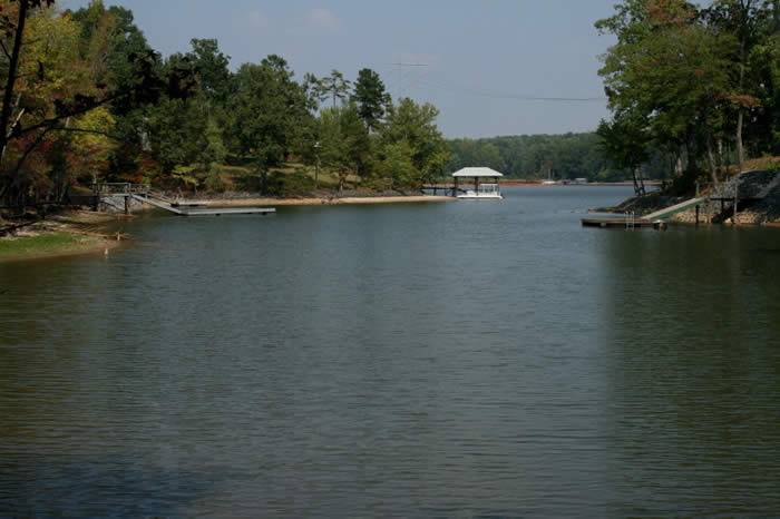 Somerset at Autumn Cove waterfront Lake Wylie real estate and lots for sale