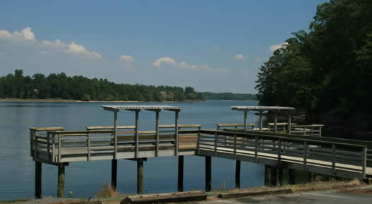 Allison Creek Peninsula waterfront Lake Wylie real estate for sale